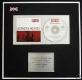 TEXAS - CD Album Award - MOTHERS HEAVEN